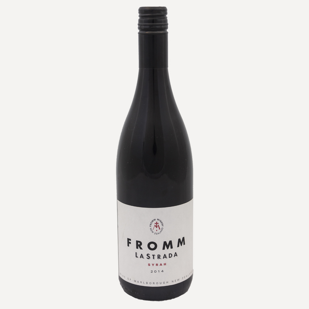 Fromm La Strada Shriaz Wine Bottle