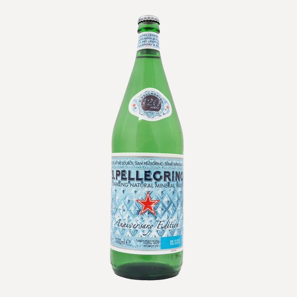 S.Pellegrino Sparkling Mineral Water 1L