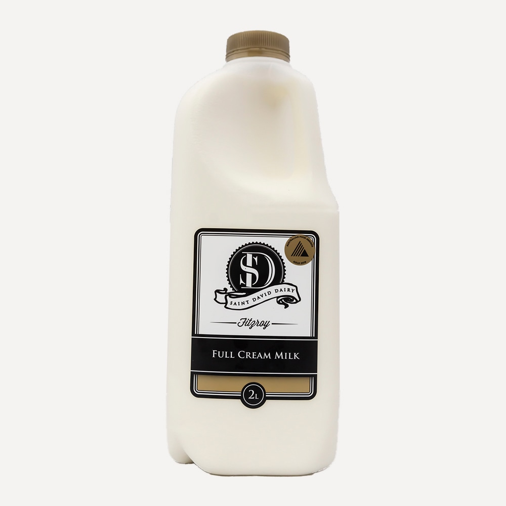 St David Dairy Full Cream Milk 2L